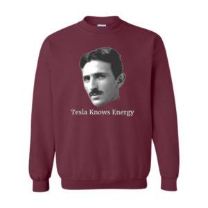 Tesla Knows Energy Sweatshirt