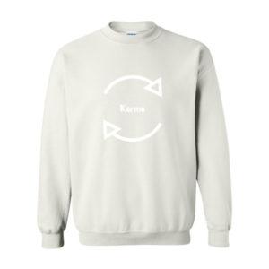 Karma, Sweatshirt